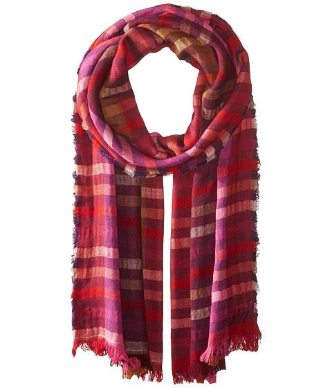 Echo Design Bright Stripes Wrap Scarf - Ruby