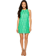 Tahari by ASL Petite - Petite Geo Lace Trapeze Dress