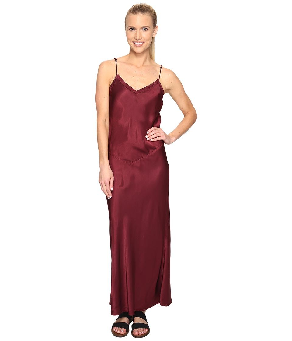 Hard Tail Long Bias Dress (Smokey Rose) Women