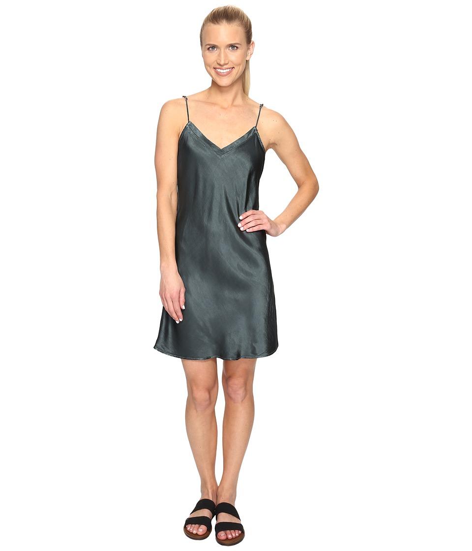 Hard Tail Bias Slip Dress (Juniper) Women