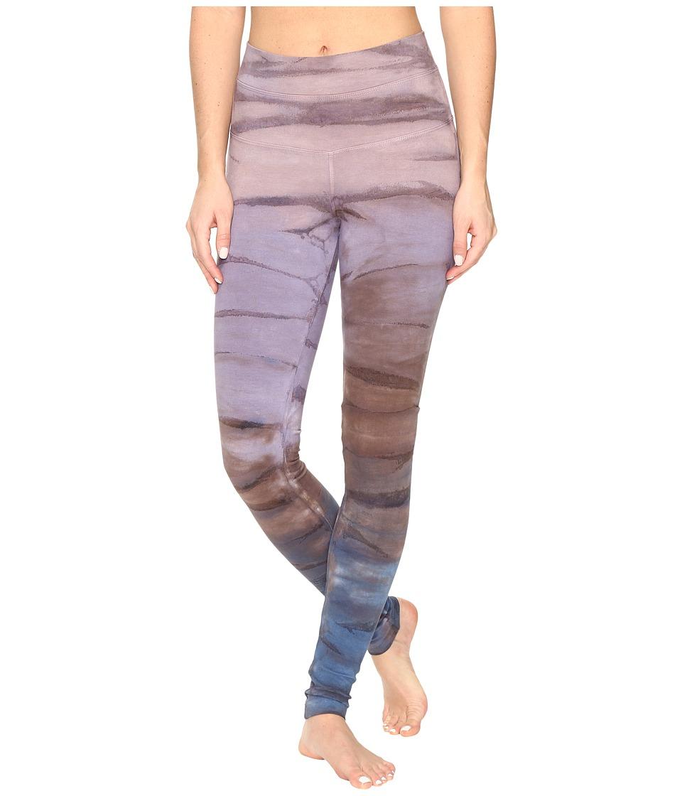 Hard Tail High Rise Ankle Leggings (Rainbow Horizon 46) Women