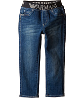 Armani Junior - Pull-On Denim with Armani Logo Band (Infant)
