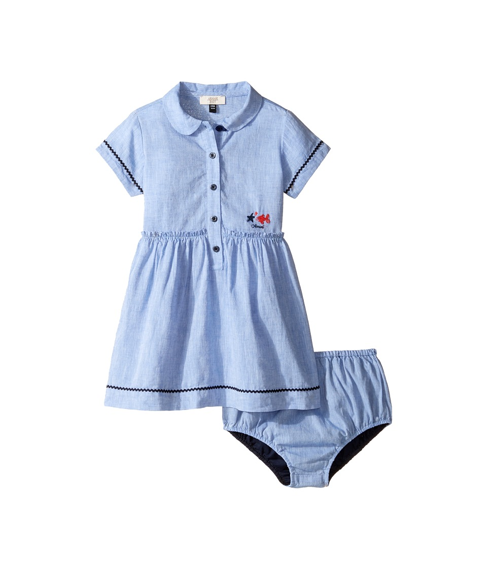 Armani Junior Armani Junior - Linen Dress with Bloomer