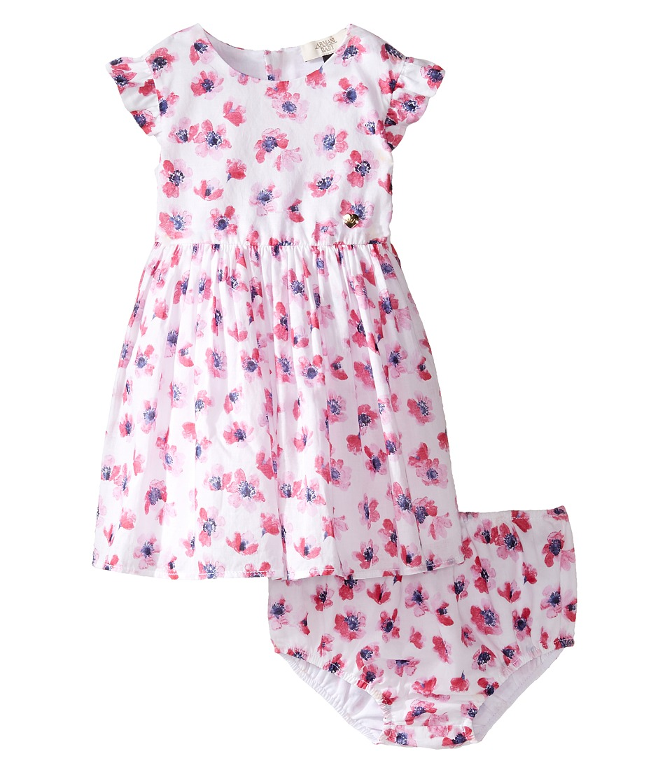 Armani Junior - Floral Printed Cotton with Bloomer
