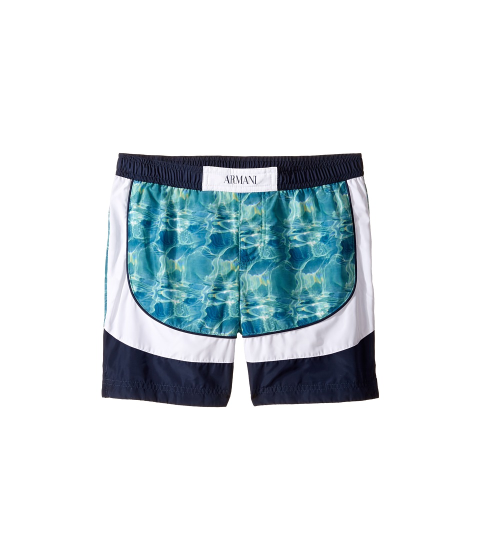 Armani Junior - Digital Water Printed Swimsuit