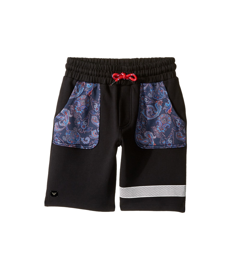 Armani Junior Armani Junior - Funtastic Sweatshorts with Mesh Detail