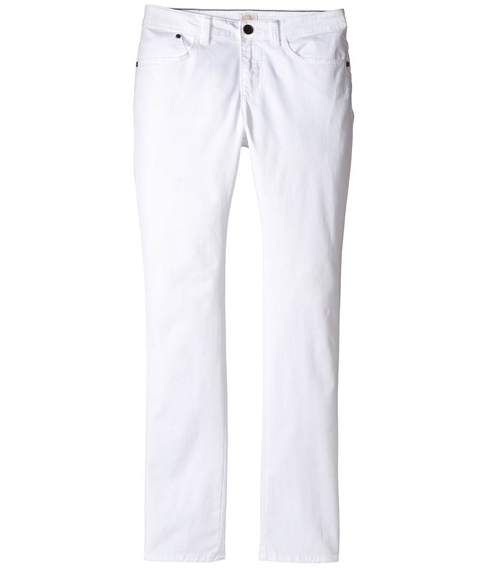 Armani Junior - Stretch Cotton Five-Pocket Pants