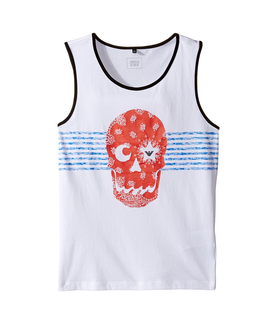 Armani Junior - Funtastic Skull Tank Top