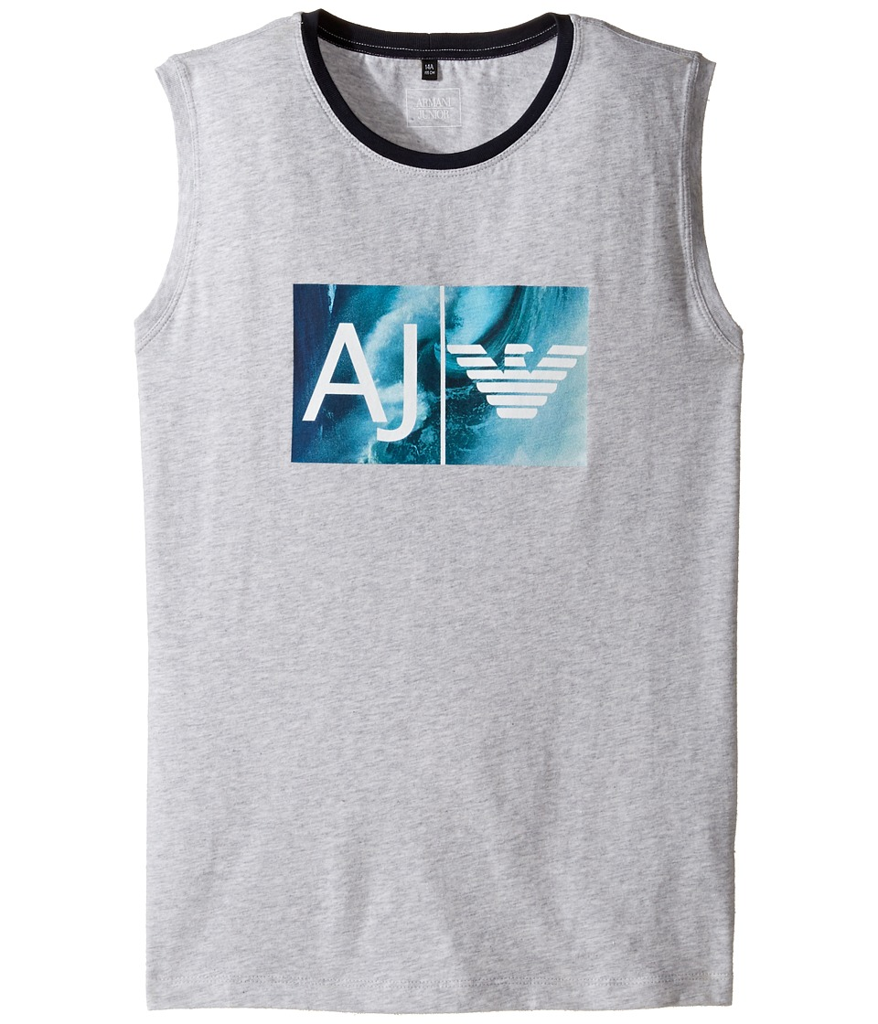 Armani Junior - Logo Wave Tank Top