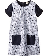 Armani Junior - Eyelet Floral Dress (Toddler/Little Kids/Big Kids)