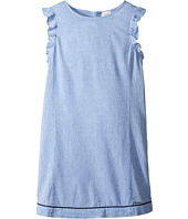Armani Junior - Linen Shift Dress (Toddler/Little Kids/Big Kids)