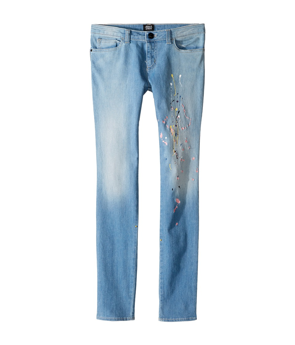 Armani Junior Armani Junior - Funtastic Paint Splatter Denim