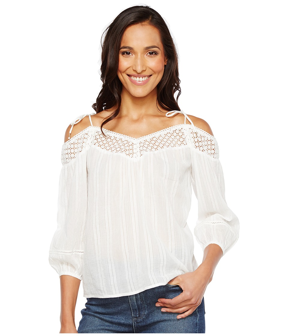 Paige Electric Polly Blouse (White) Women's Blouse