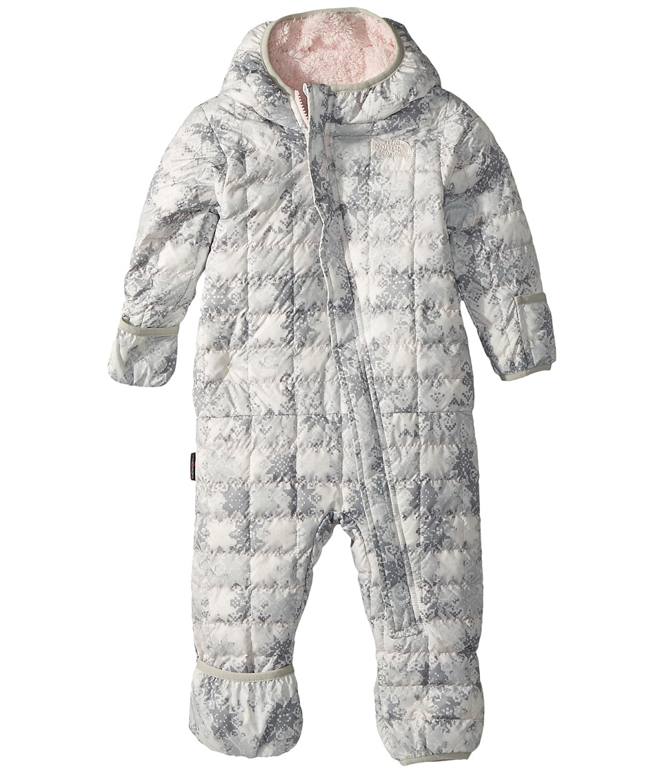 North Face ThermoBall Bunting (Infant) (TNF White Snowfla...