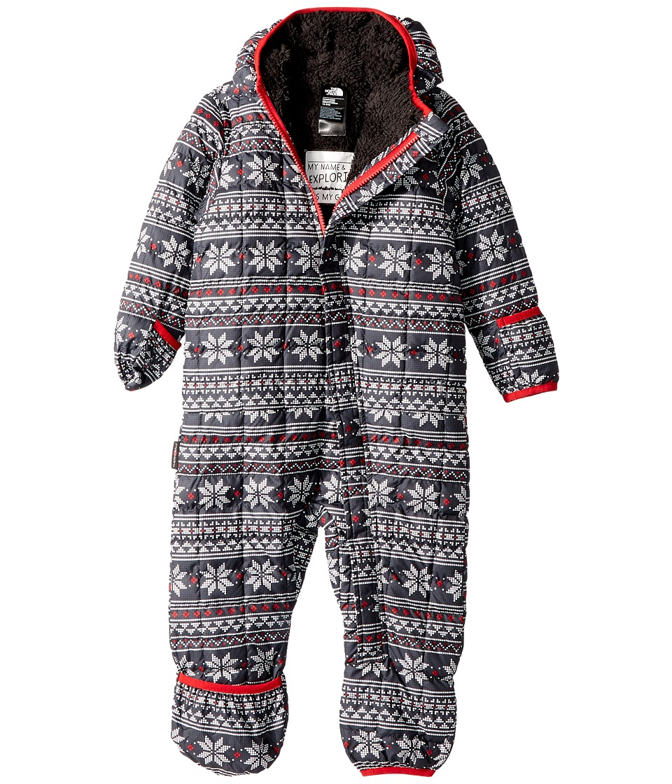 North Face ThermoBall Bunting (Infant) (TNF White Holiday...
