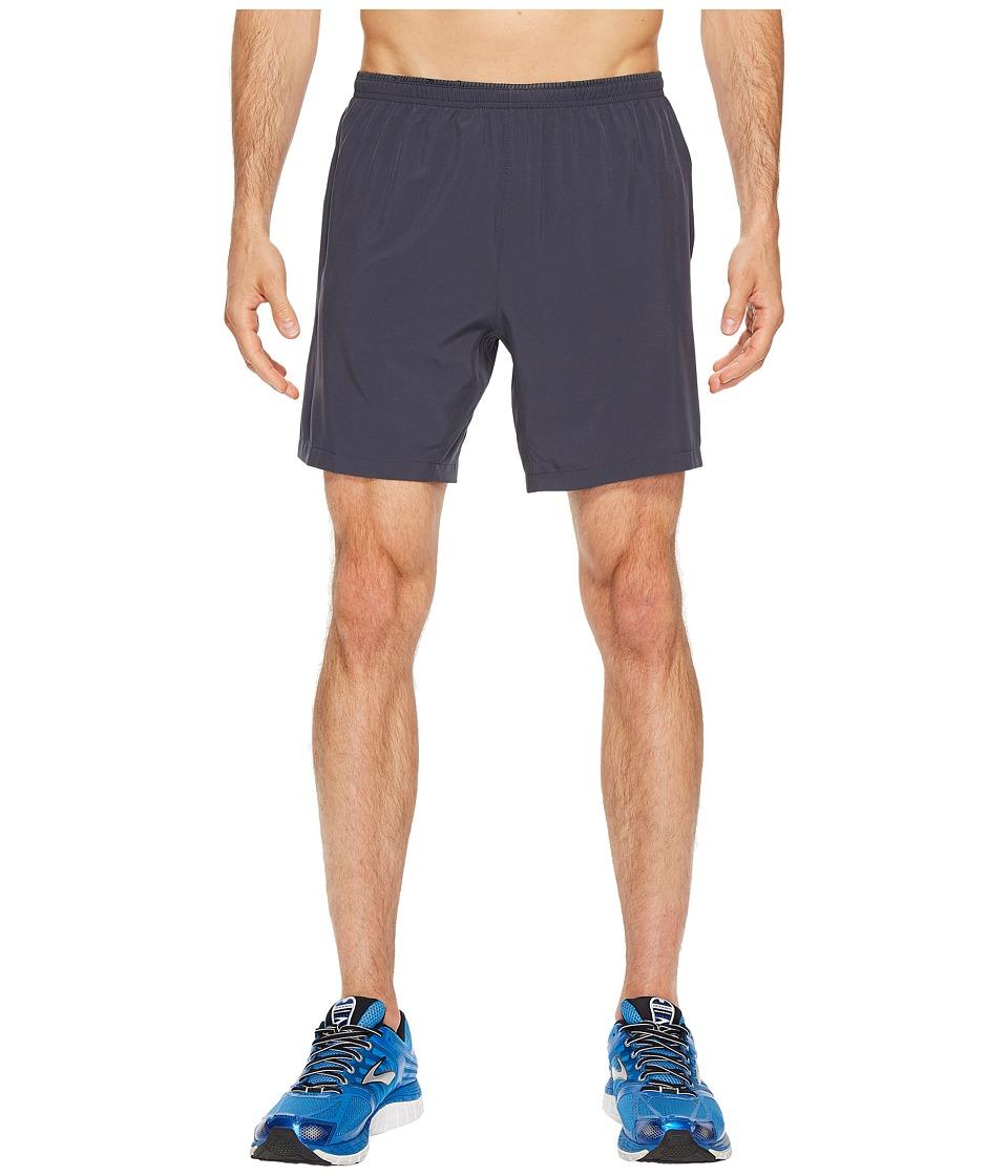 Brooks Sherpa 7 2-in-1 Shorts (Asphalt) Men