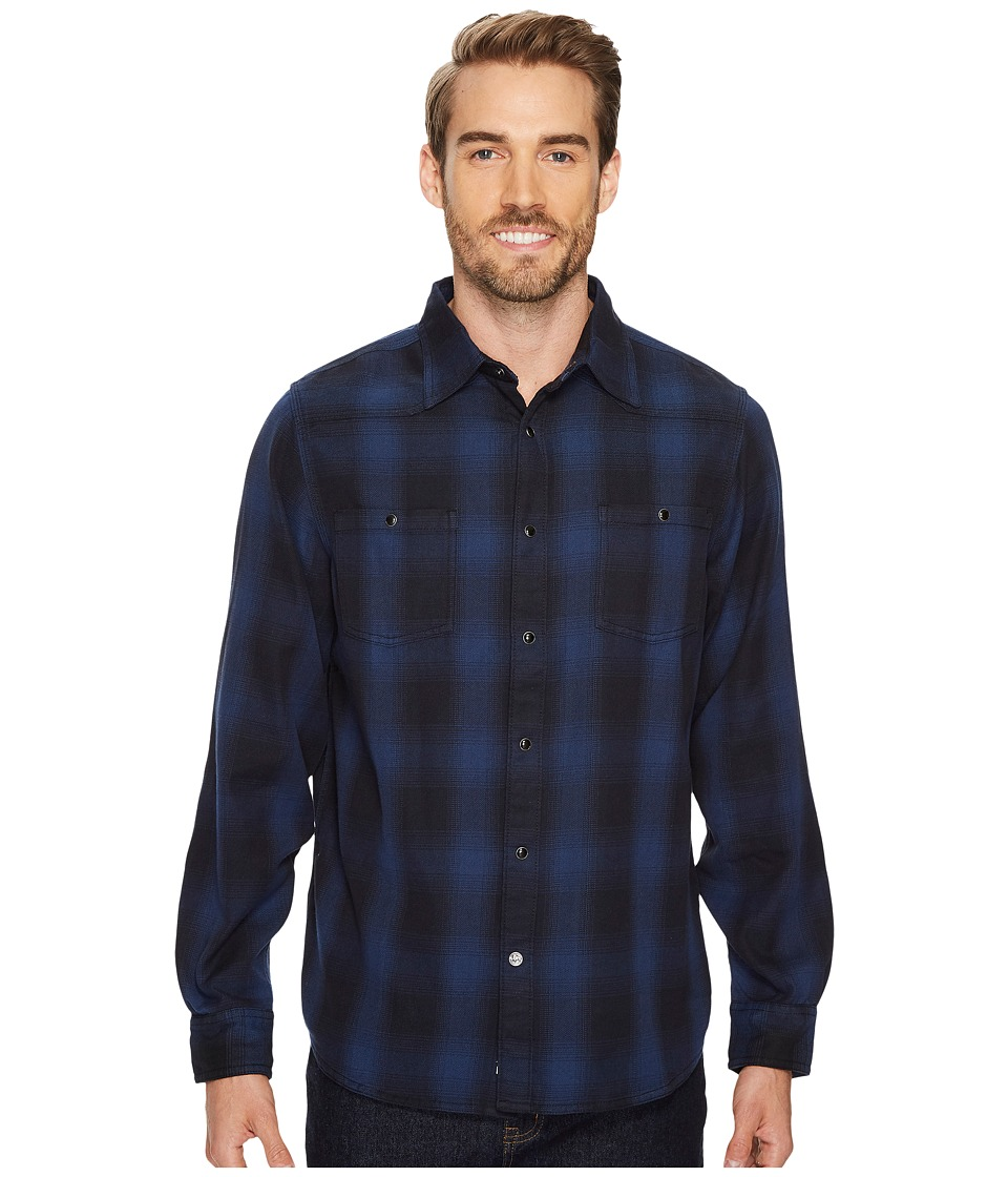 Mountain Khakis Saloon Flannel Shirt (Twilight) Men's Clothing