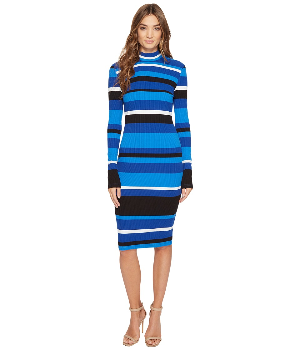 CATHERINE Catherine Malandrino Kristiana Dress (Feb Stripe Blue) Women
