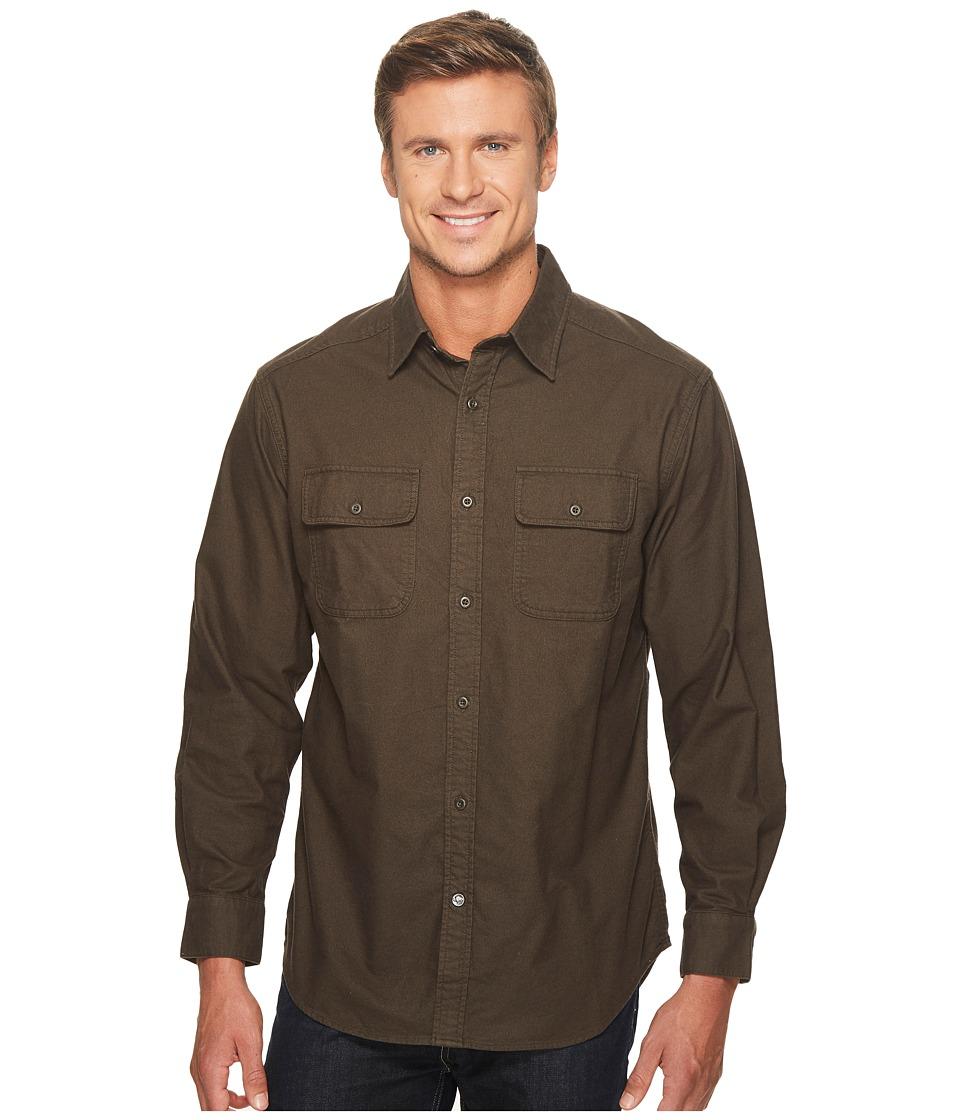 Mountain Khakis - Ranger Chamois Shirt (Coffee) Mens Clothing