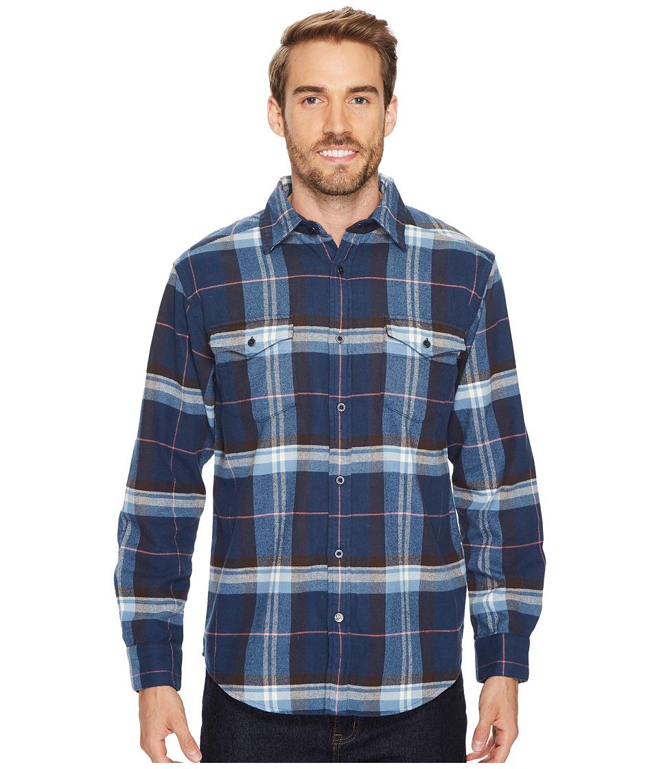 Mountain Khakis Teton Flannel Shirt (Twilight) Men's Clothing