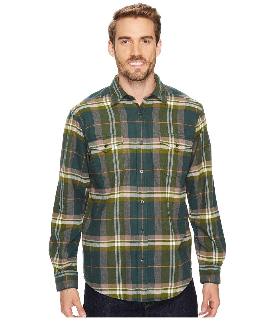Mountain Khakis Teton Flannel Shirt (Wintergreen) Men's Clothing