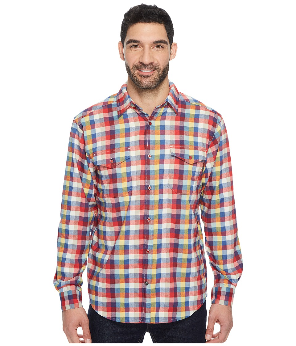 Mountain Khakis Peaks Flannel Shirt (Bull's-eye Multi) Men's Clothing