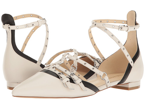 Nine West Aweso - Off-White Multi Leather