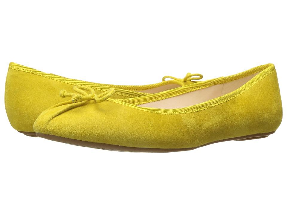 Nine West Batoka (Yellow Suede) Women