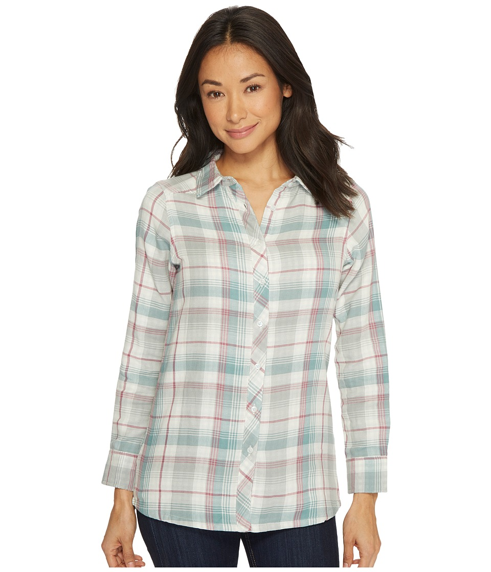 Mountain Khakis - Townie Long Sleeve Shirt (Cream) Womens Clothing