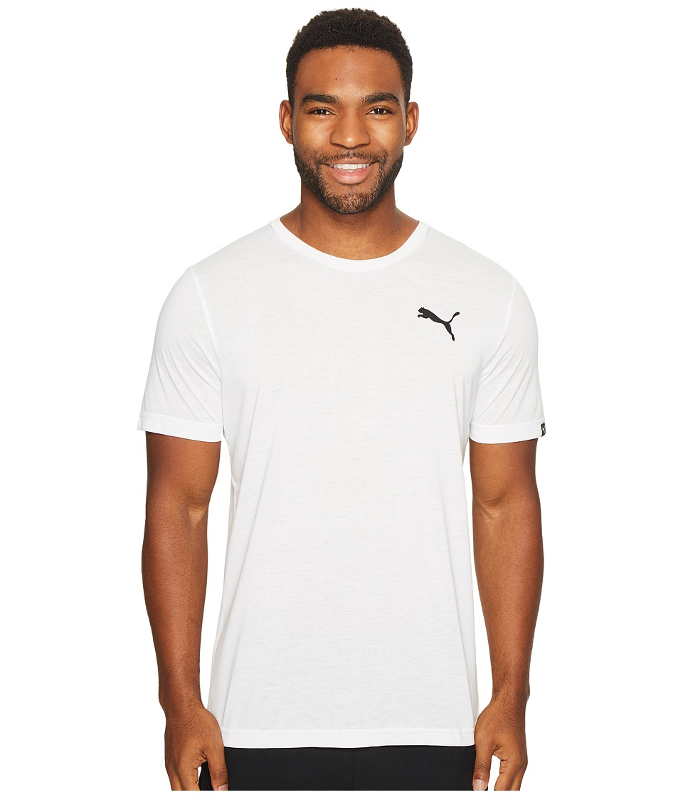 PUMA Active Tee (Medium Gray Heather) Men