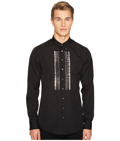 DSQUARED2 Mod Evening Safety Pin Shirt