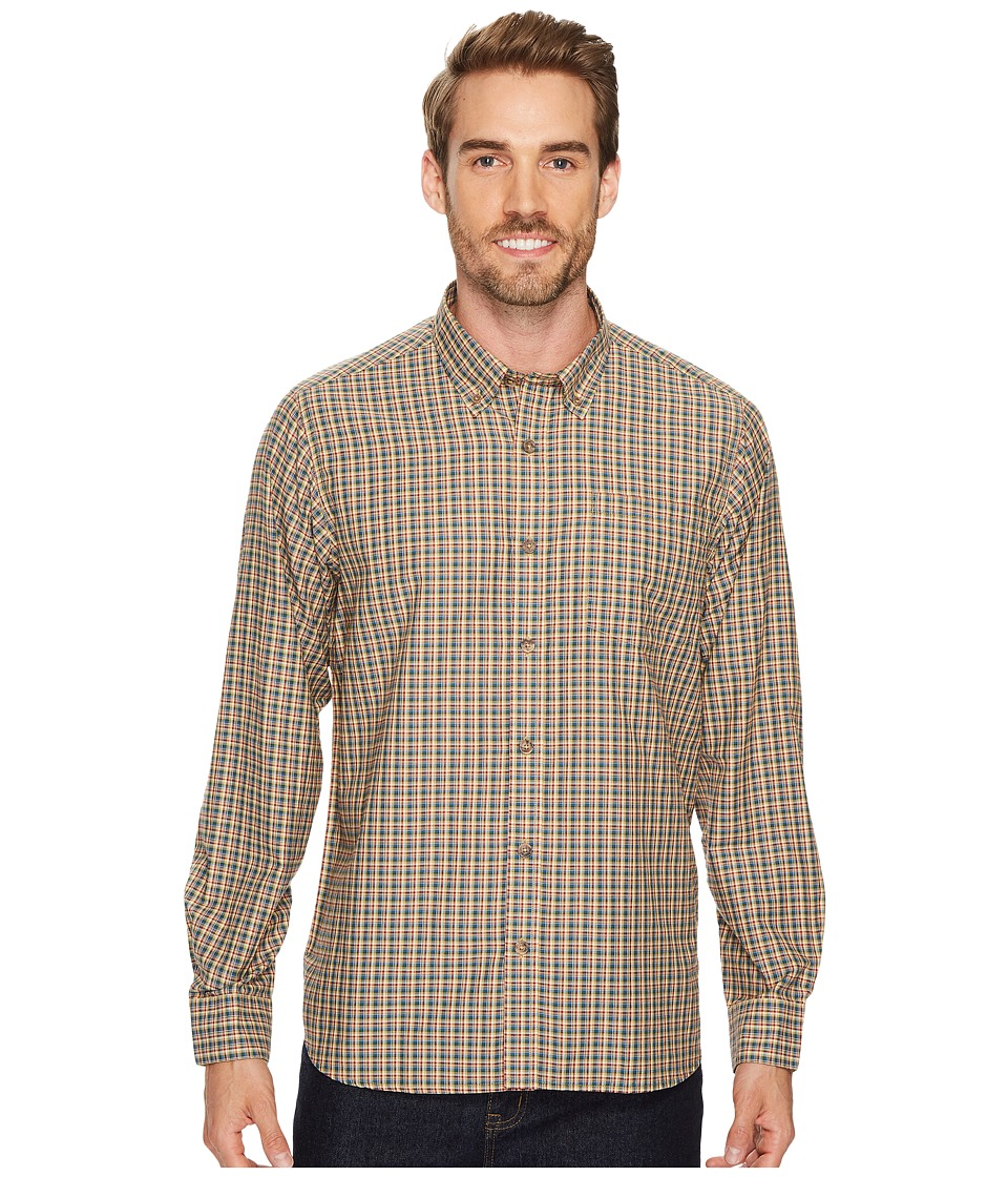 Mountain Khakis - Spalding Gingham Shirt (Retro Khaki) Mens T Shirt