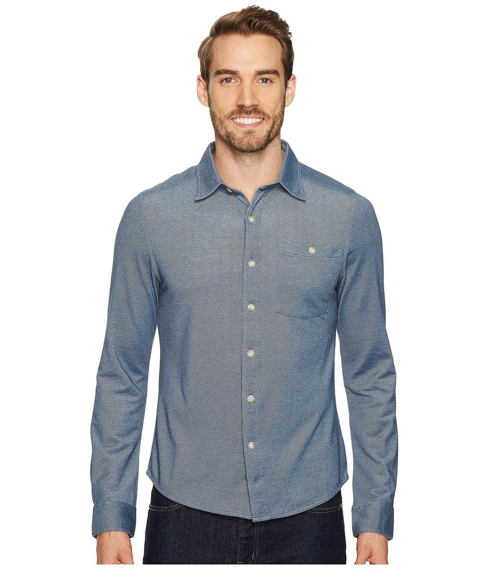 Mountain Khakis - Nowlin Knit Shirt (Twilight) Mens Clothing
