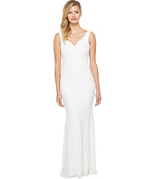 Badgley Mischka - Sequin Gown with Sweetheart Neck and Corset Waist