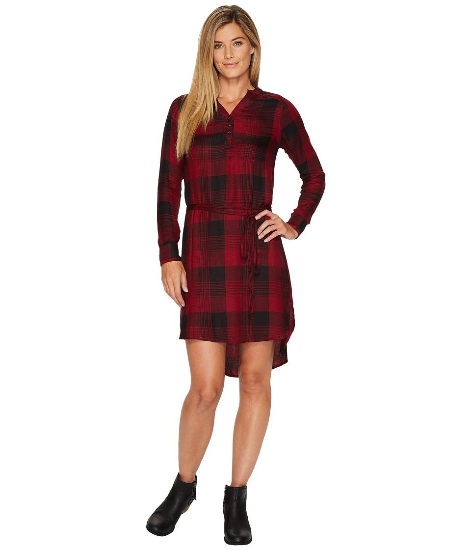 Mountain Khakis Josie Dress (Beaujolais Plaid) Women