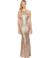 Badgley Mischka - Sequin Halter Gown