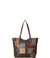American West - Groovy Soul Large Zip Top Tote