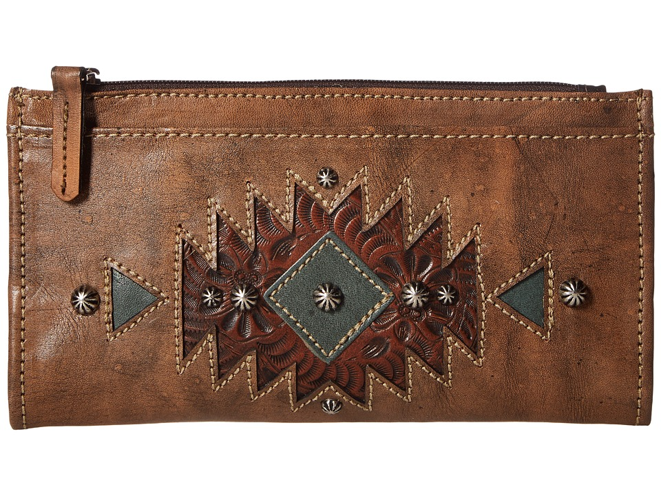 American West - Folded Wallet