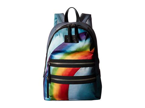 Marc Jacobs Rainbow Printed Biker Backpack