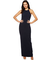 Badgley Mischka - Stretch Crepe Halter