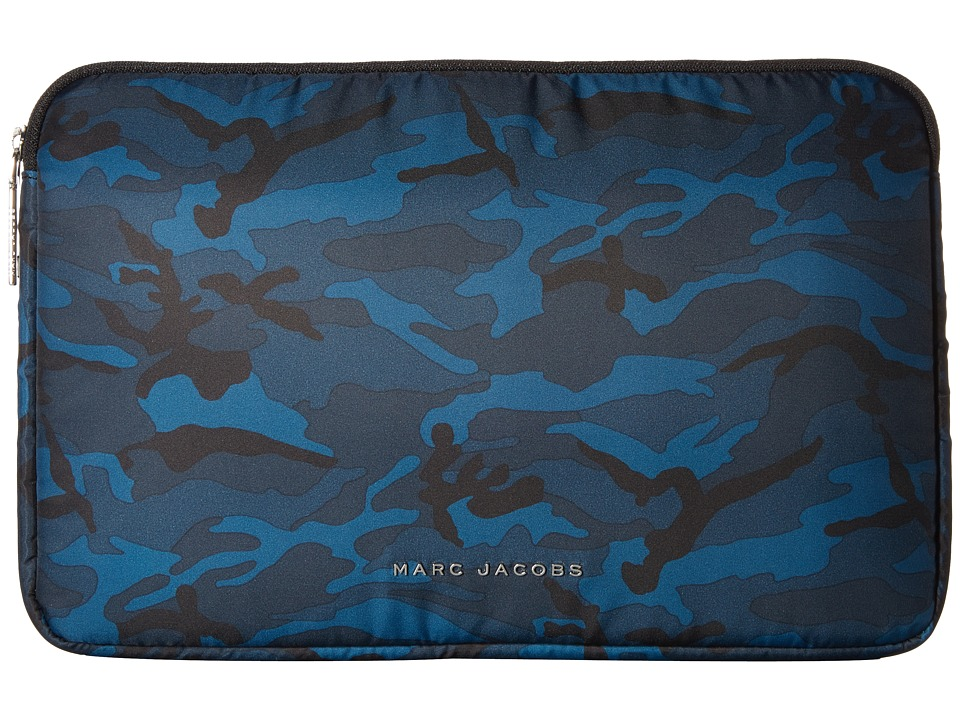 Marc Jacobs Byot Camo 13 Computer Case (Navy Multi) Computer Bags