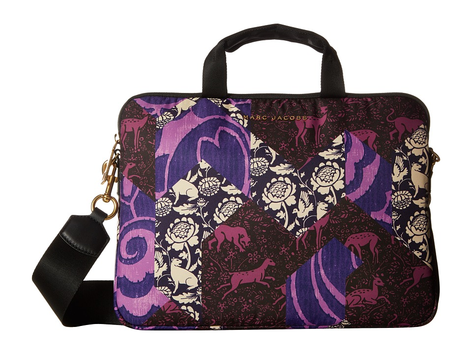 Marc Jacobs Byot Tapestry 13 Commuter Case (Black Multi) Computer Bags