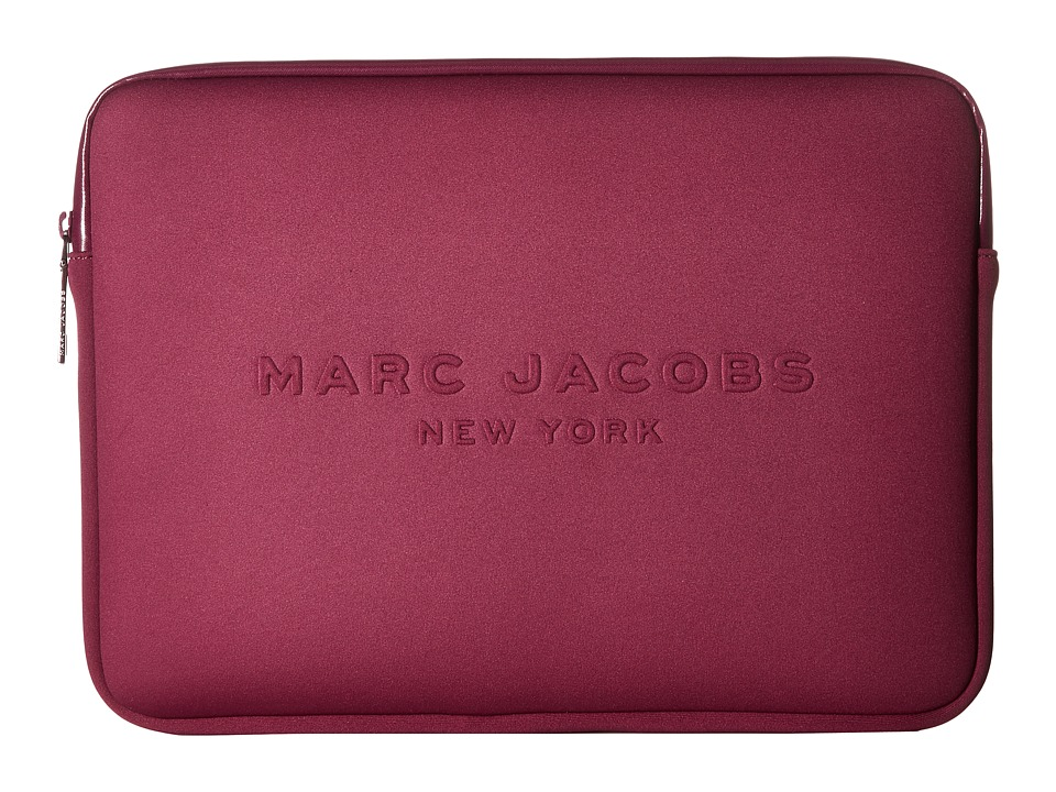 Marc Jacobs Neoprene Tech 13 Computer Case (Berry) Computer Bags