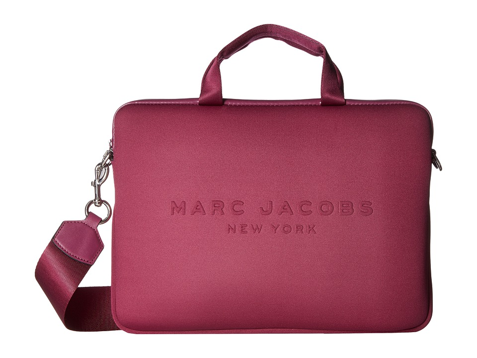 Marc Jacobs Neoprene Tech 13 Commuter Case (Berry) Computer Bags