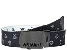 Armani Junior - Fabric Belt with Logo Buckle (Big Kids)