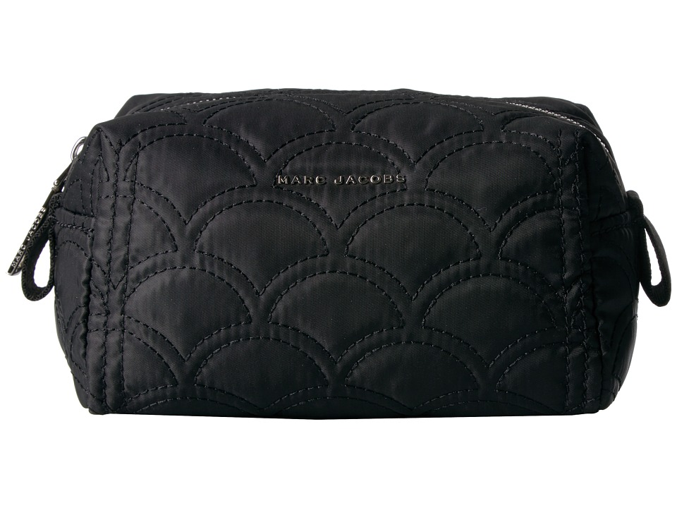 Marc Jacobs Easy Matelasse Large Cosmetic (Black) Cosmetic Case