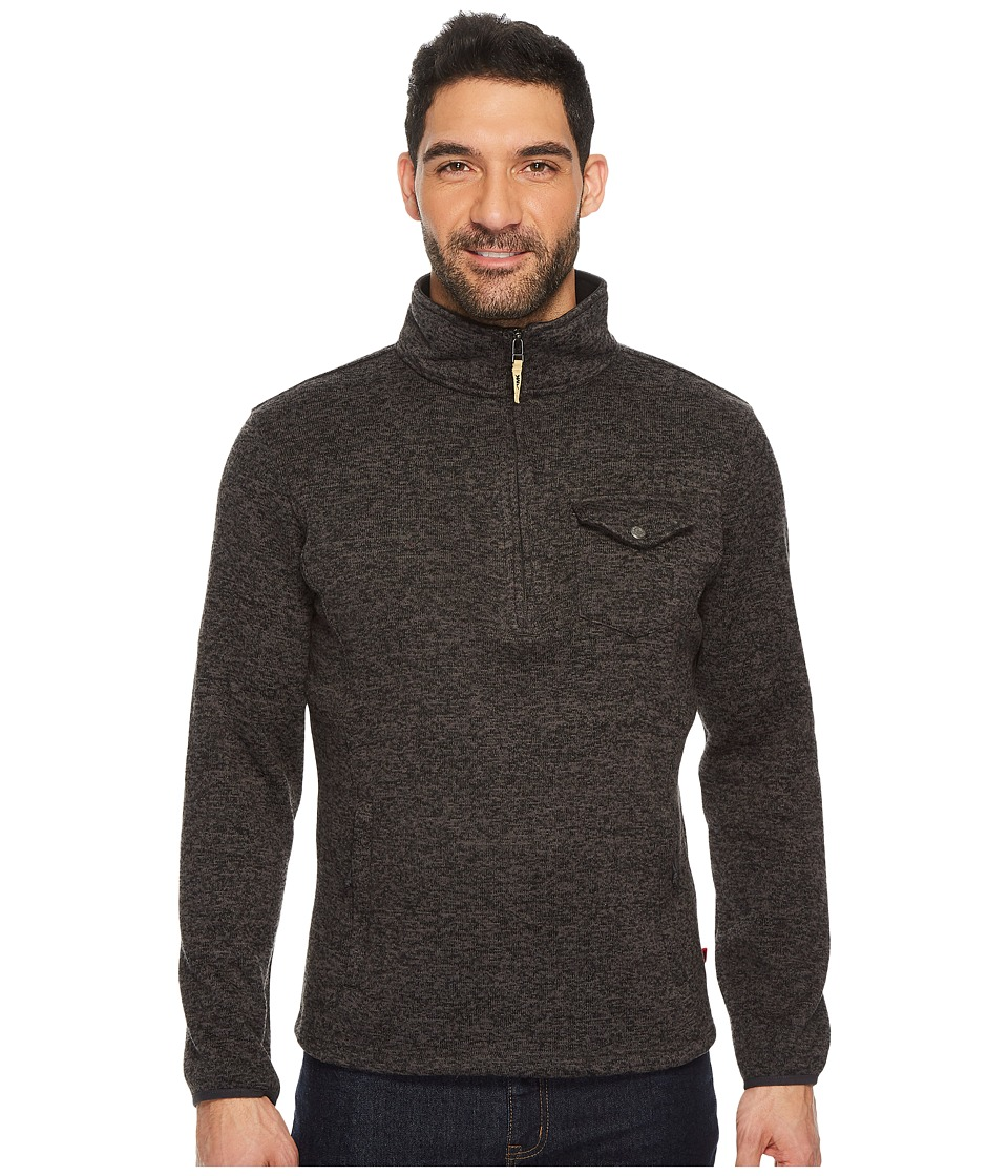 Mountain Khakis Old Faithful 1/4 Zip Sweater (Black) Men