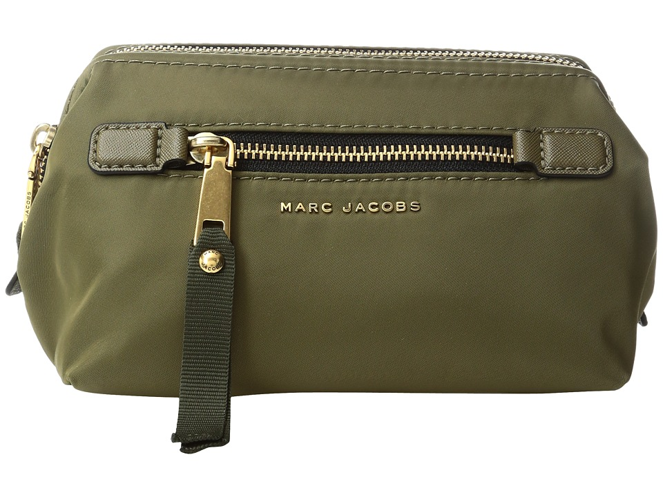 Marc Jacobs Trooper Framed Big Bliz Cosmetics Case (Army Green) Cosmetic Case