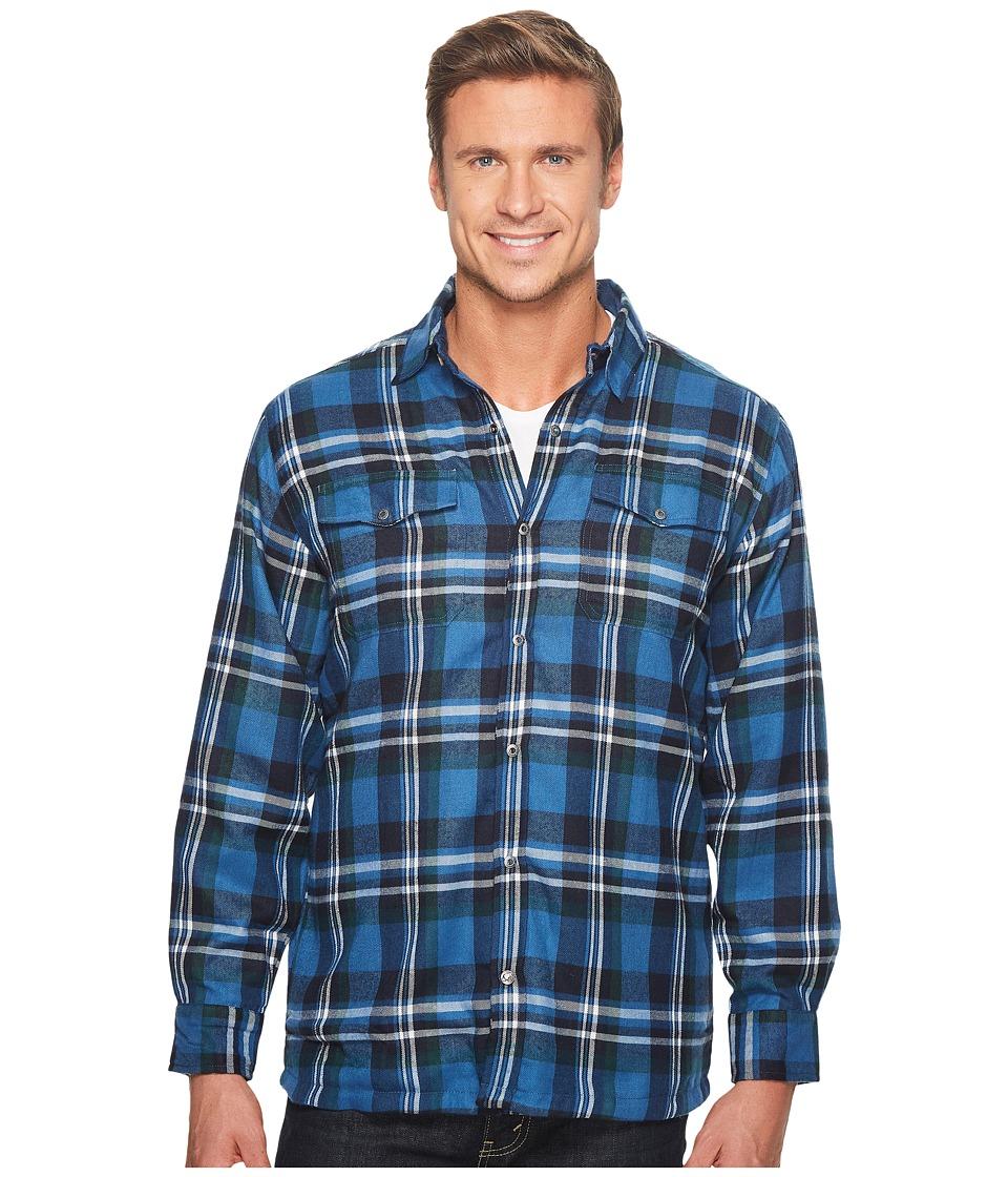 Mountain Khakis - Christopher Fleece Lined Shirt (Twilight) Mens Clothing