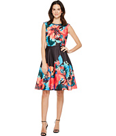 Tahari by ASL - Hot-House Florals Dress